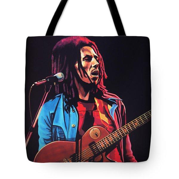 Bob Marley 2 Tote Bag by Paul Meijering