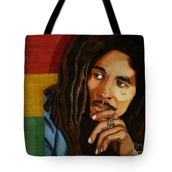 Bob Marley Legend Tote Bag