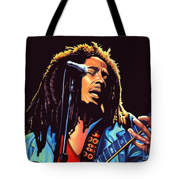 Bob Marley Tote Bag by Paul Meijering