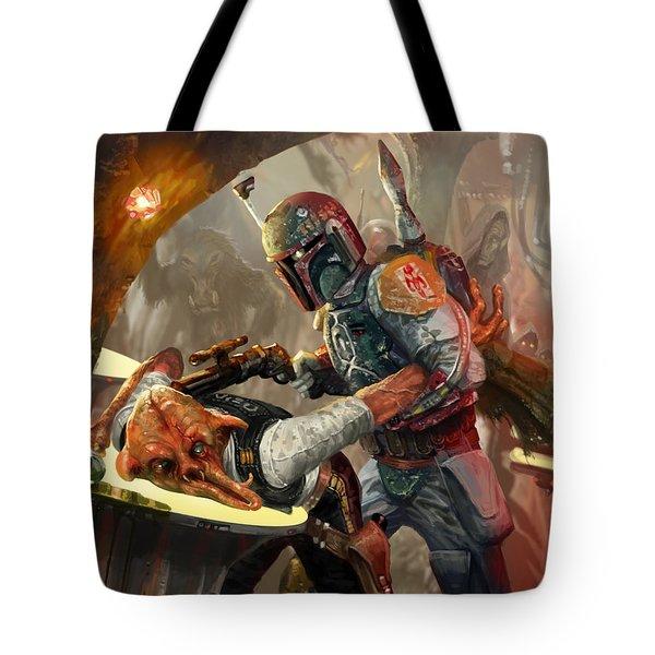 Boba Fett - Star Wars The Card Game Tote Bag
