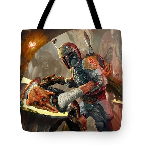 Boba Fett - Star Wars The Card Game Tote Bag