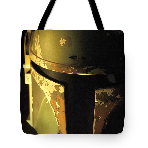 Boba Fett Helmet 124 Tote Bag