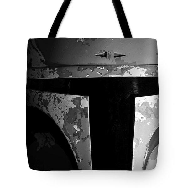 Boba Fett Helmet 29 Tote Bag