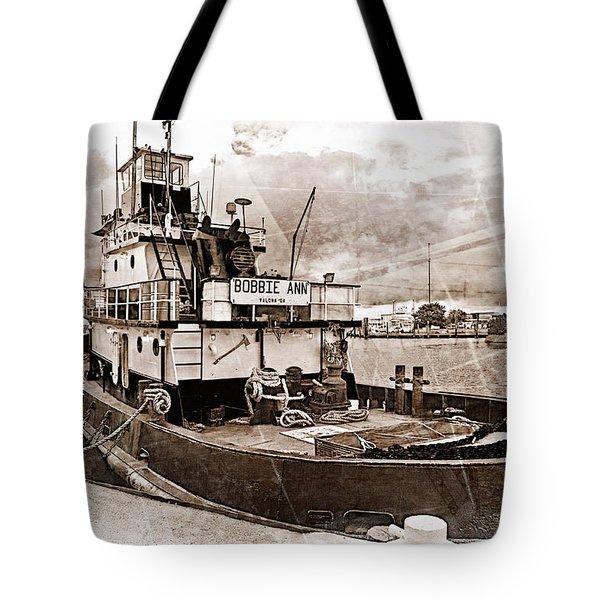 Bobbie Ann Tote Bag by Suzanne Stout