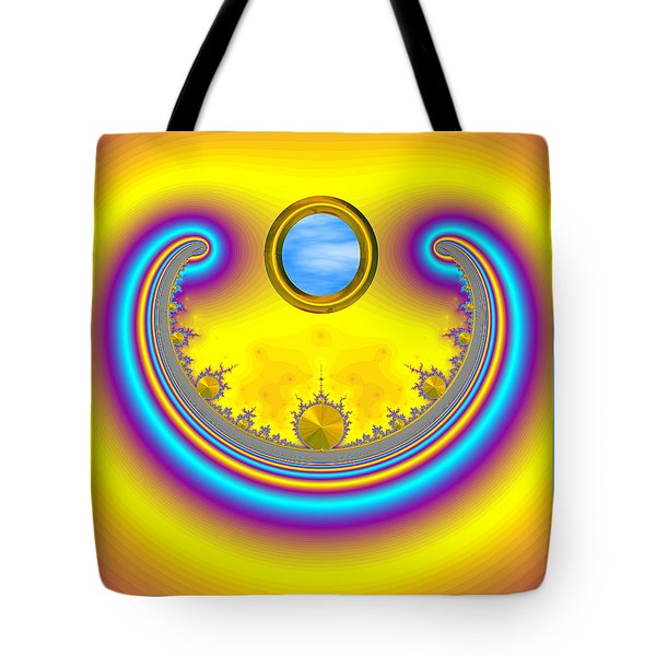 Bobby's Blue Skies Tote Bag