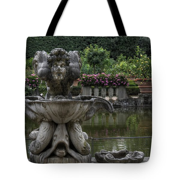 Boboli Fountain Tote Bag