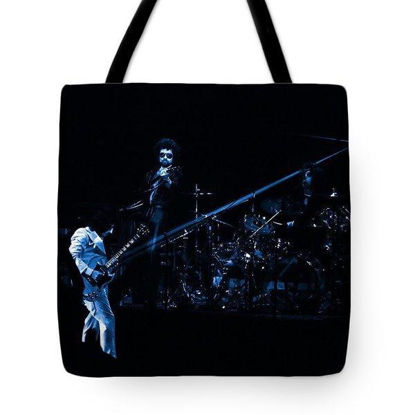 Boc #4 Lasers In Blue Tote Bag