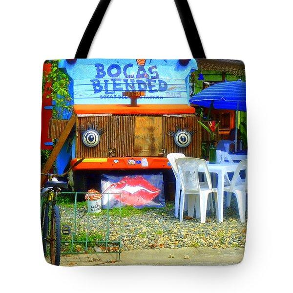 Bocas Blended Tote Bag by Kris Hiemstra
