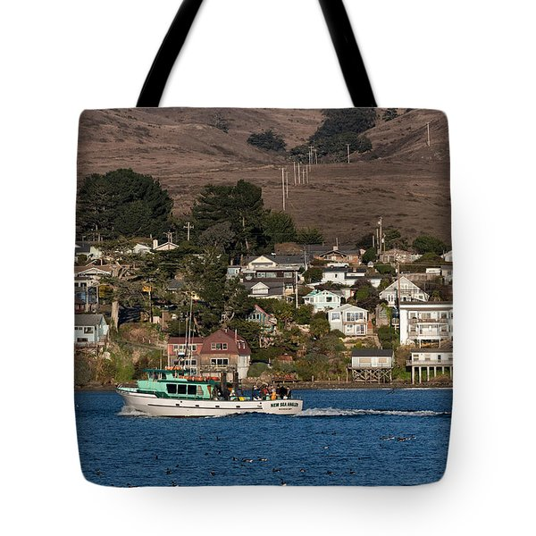 Bodega Bay In December Tote Bag