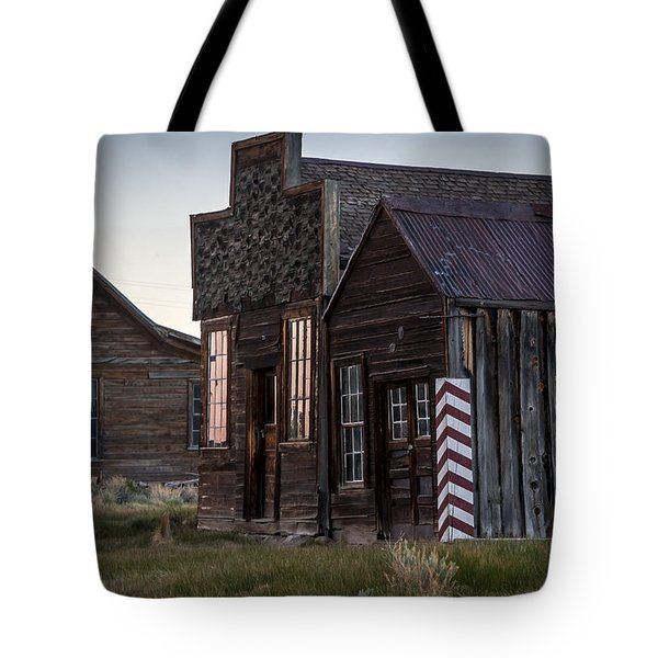 Bodie Bar And Barber Tote Bag