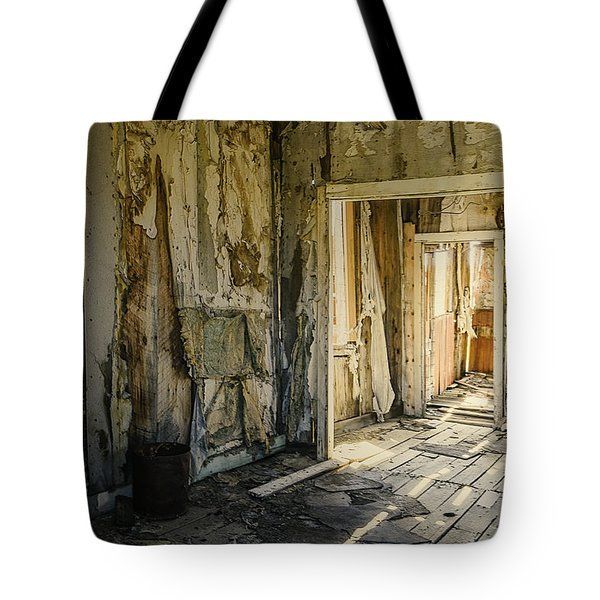 Bodie California Forgotten Ballroom Tote Bag by LeeAnn McLaneGoetz McLaneGoetzStudioLLCcom
