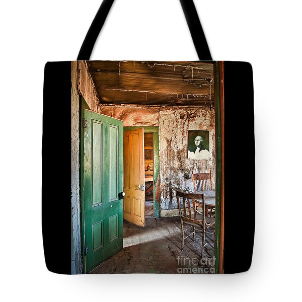 Bodie Doors Tote Bag by Alice Cahill