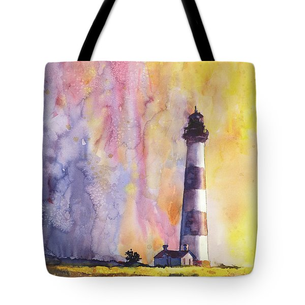Bodie Island Lighthouse Tote Bag by Ryan Fox