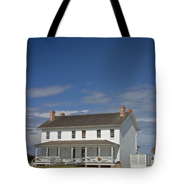 Tote Bag featuring the photograph Bodie Lighthouse Obx by Greg Reed
