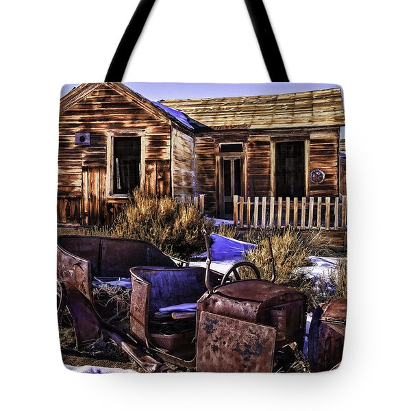 Tote Bag featuring the painting Bodie by Muhie Kanawati