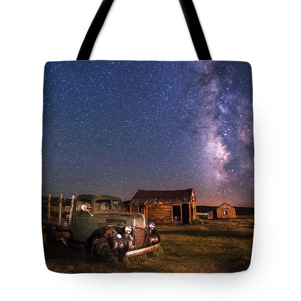 Bodie Nights Tote Bag by Cat Connor