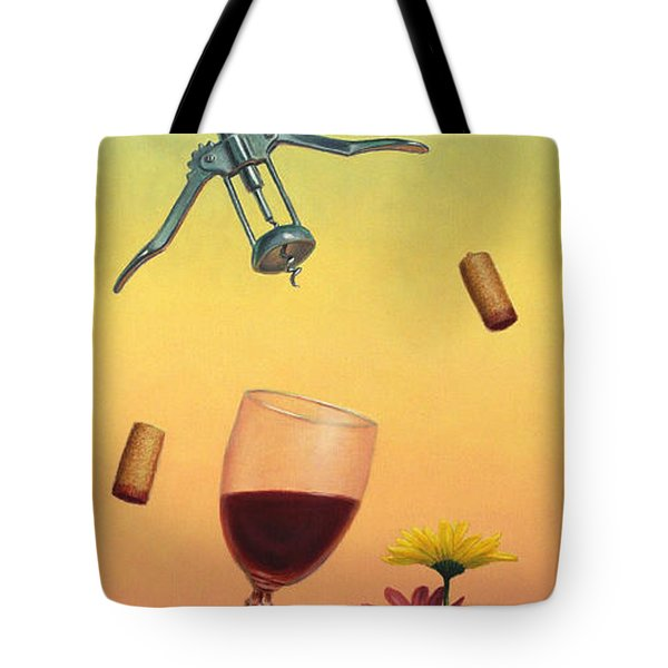 Body And Soul Tote Bag by James W Johnson