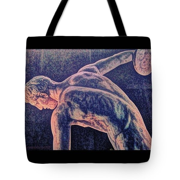 Body Beautiful Sculpture Tote Bag by Anna Porter
