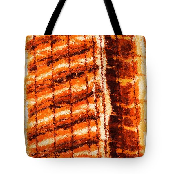 Body Heat Tote Bag by Ayse Deniz