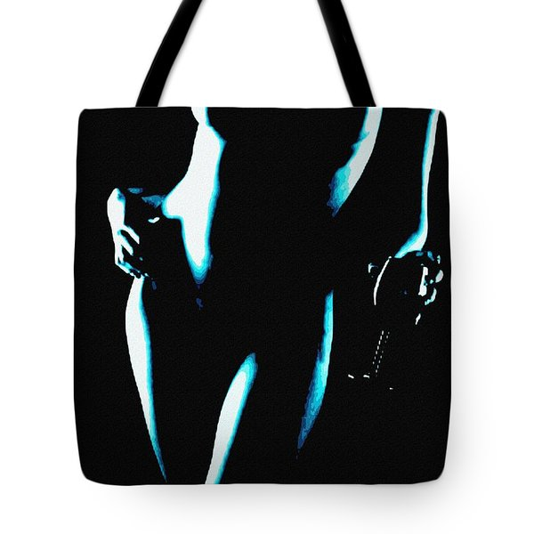 Body Waves 4 Tote Bag by Piety Dsilva