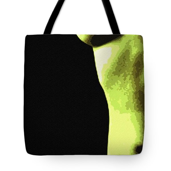 Body Waves 8 Tote Bag by Piety Dsilva
