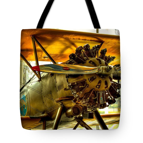 Boeing 100p Fighter Tote Bag