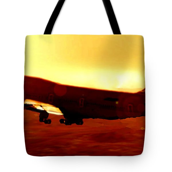 Boeing Beauty Tote Bag by Marcello Cicchini