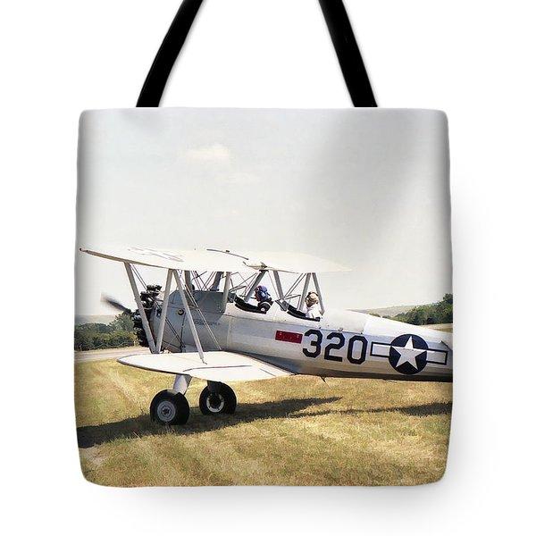 Boeing Stearman Tote Bag
