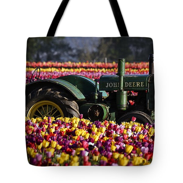 Bogged Down By Color Tote Bag by Wes and Dotty Weber