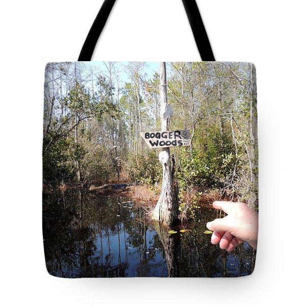 Bogger Woods Tote Bag