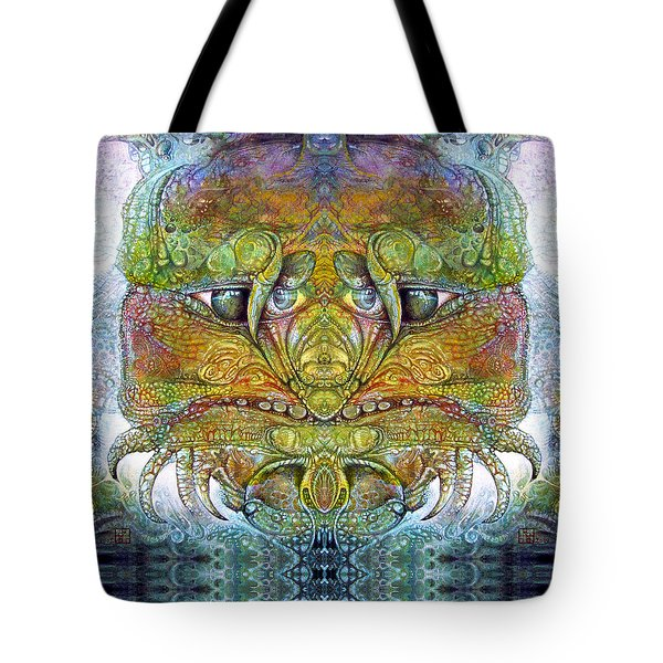 Tote Bag featuring the digital art Bogomil Variation 11 by Otto Rapp