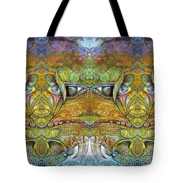 Tote Bag featuring the digital art Bogomil Variation 12 by Otto Rapp
