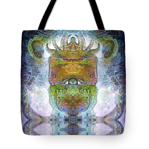 Tote Bag featuring the digital art Bogomil Variation 15 by Otto Rapp