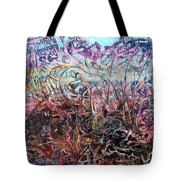 Tote Bag featuring the painting Bogomils Vegetable Garden  by Otto Rapp
