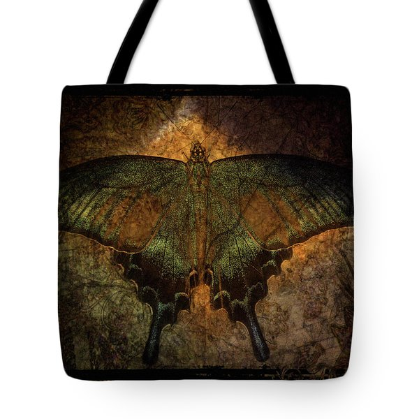Bohemia Butterfly - Art Nouveau Tote Bag by Absinthe Art By Michelle LeAnn Scott