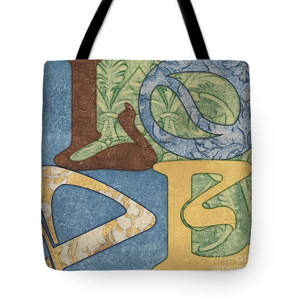 Bohemian Love Tote Bag
