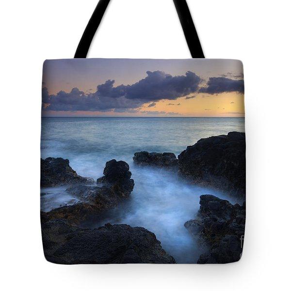 Boiling Sea Tote Bag by Mike  Dawson