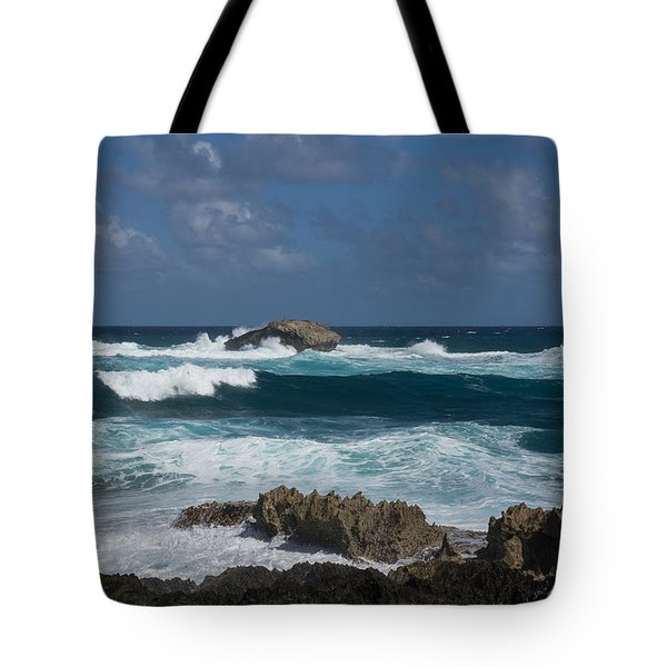 Boiling The Ocean At Laie Point - North Shore - Oahu - Hawaii Tote Bag