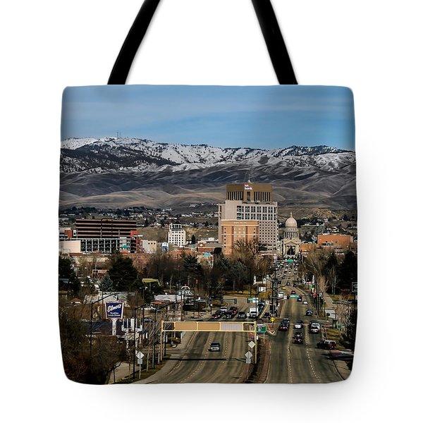 Boise Idaho Tote Bag