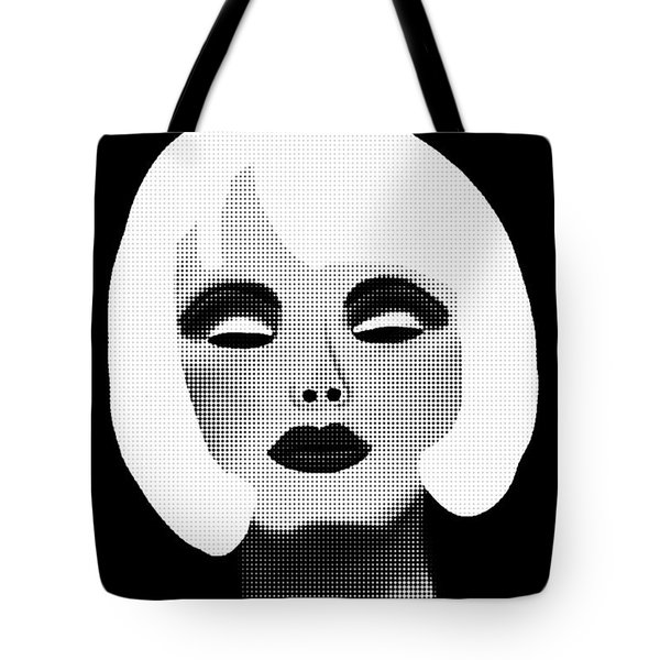 Bold Blonde Beauty Tote Bag