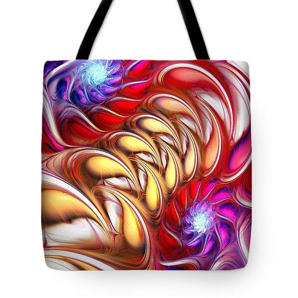 Bold Colors Tote Bag by Anastasiya Malakhova