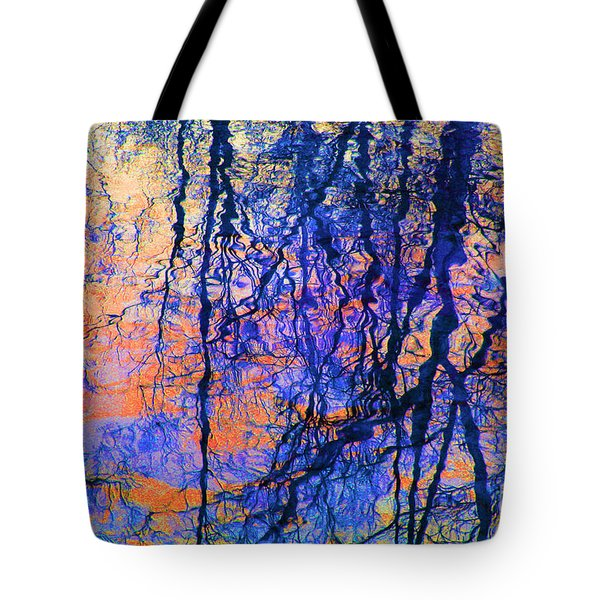 Bold Tree Reflections Tote Bag