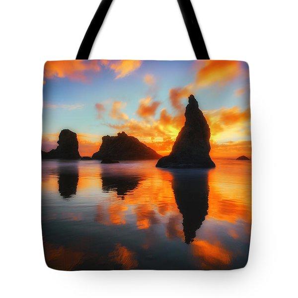 Boldly Bandon Tote Bag by Darren  White
