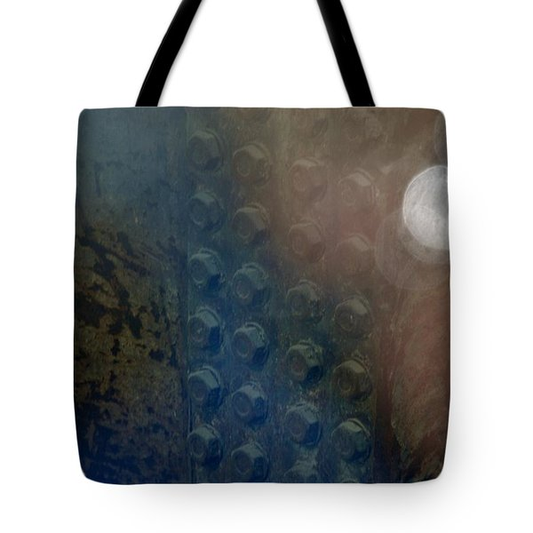 Bolts On The Trident Tote Bag by Rob Hans