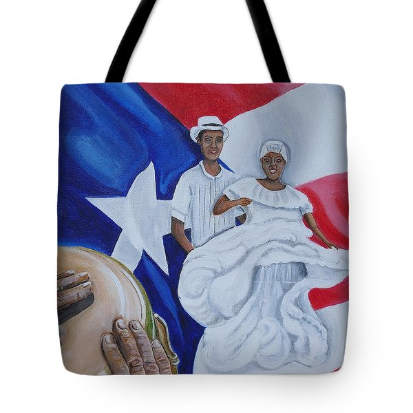 Bomba Tote Bag by Melissa Torres