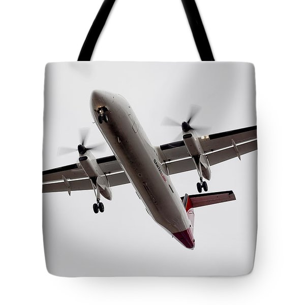 Bombardier Dhc 8 Tote Bag