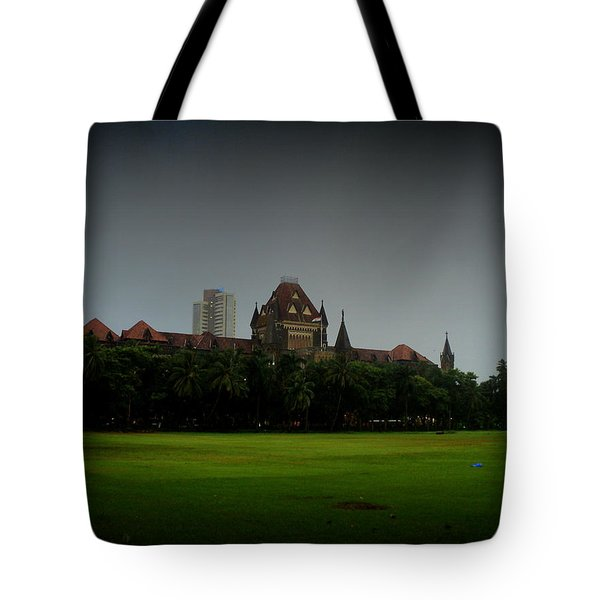 Tote Bag featuring the photograph Bombay High Court by Salman Ravish