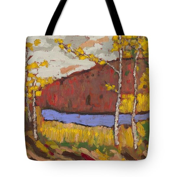 Bon Echo Gold Tote Bag