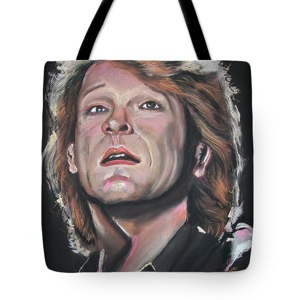 Bon Jovi Tote Bag by Peter Suhocke