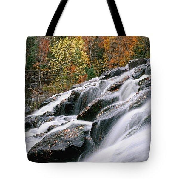 Bond Falls Upper Peninsula Michigan Tote Bag
